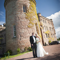 Wedding Photography Dalhousie Castle Edinburgh