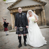 Wedding Photography Dynamic Earth Edinburgh