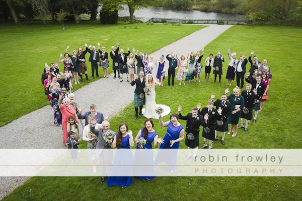 Dryburgh Abbey Hotel Wedding